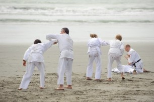 Beach Training – 2008